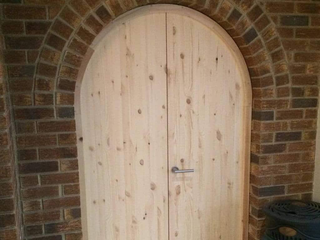 Norwich Carpenter Arched Wooden Door