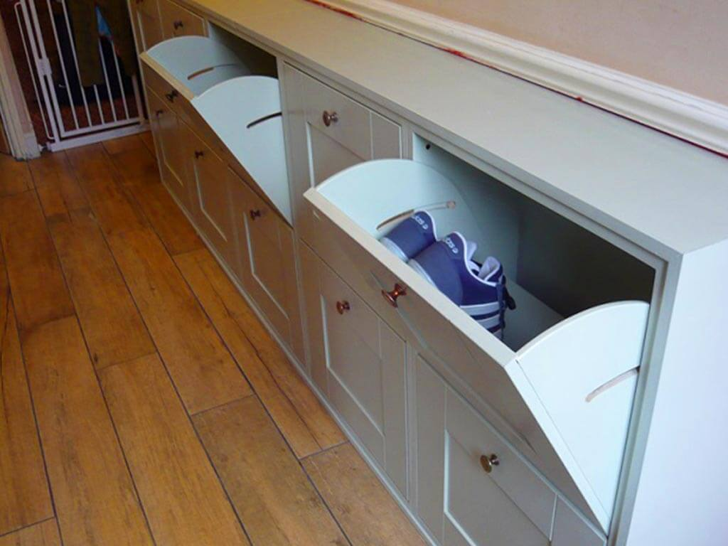 Norwich Carpenter Shoe Storage Units