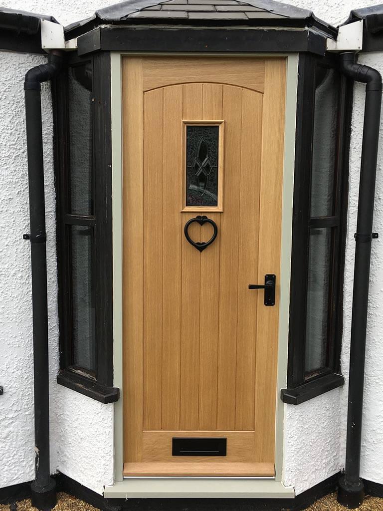 Norwich Carpenter Wooden Front Door