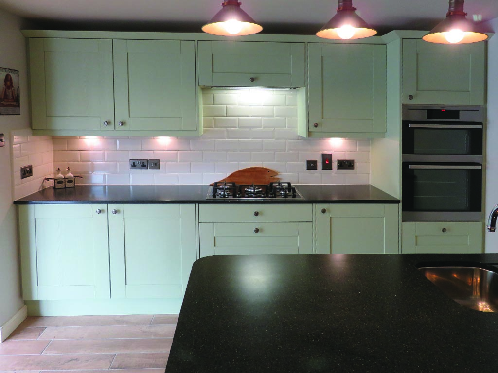 Norwich Carpentry Painted Wooden Kitchen