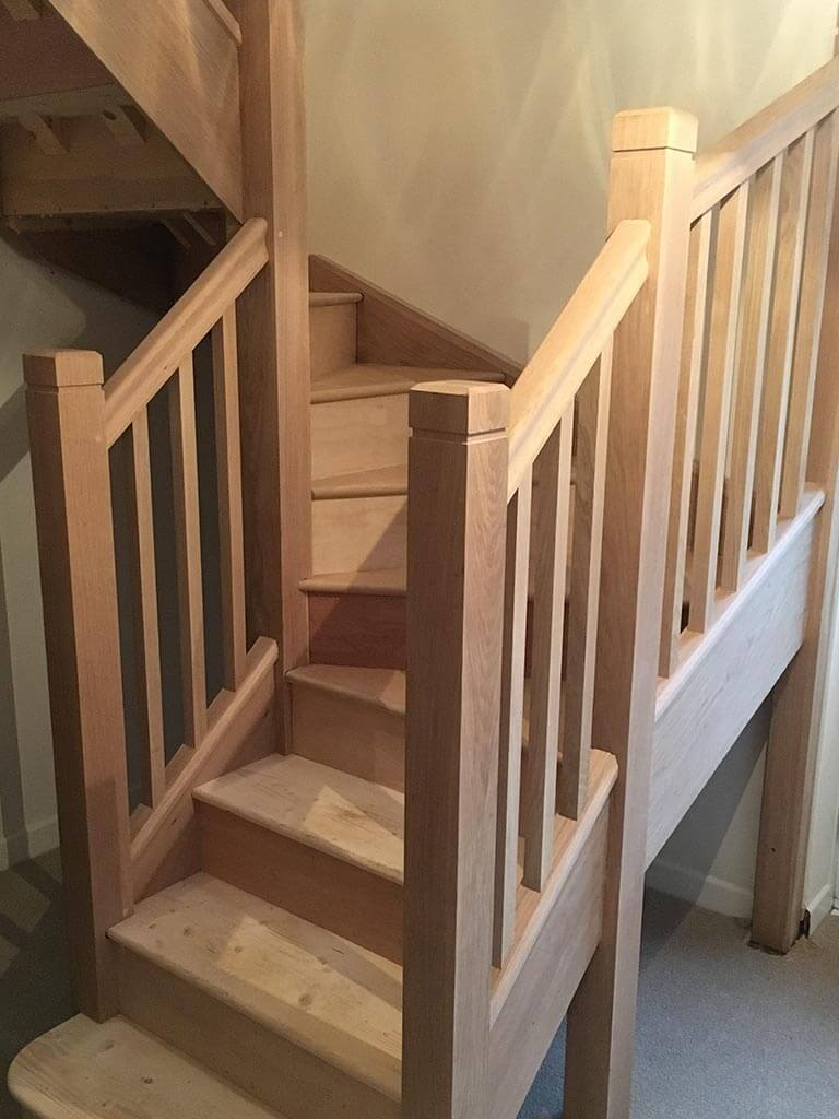 Solid Oak Stairs Carpenter North Walsham