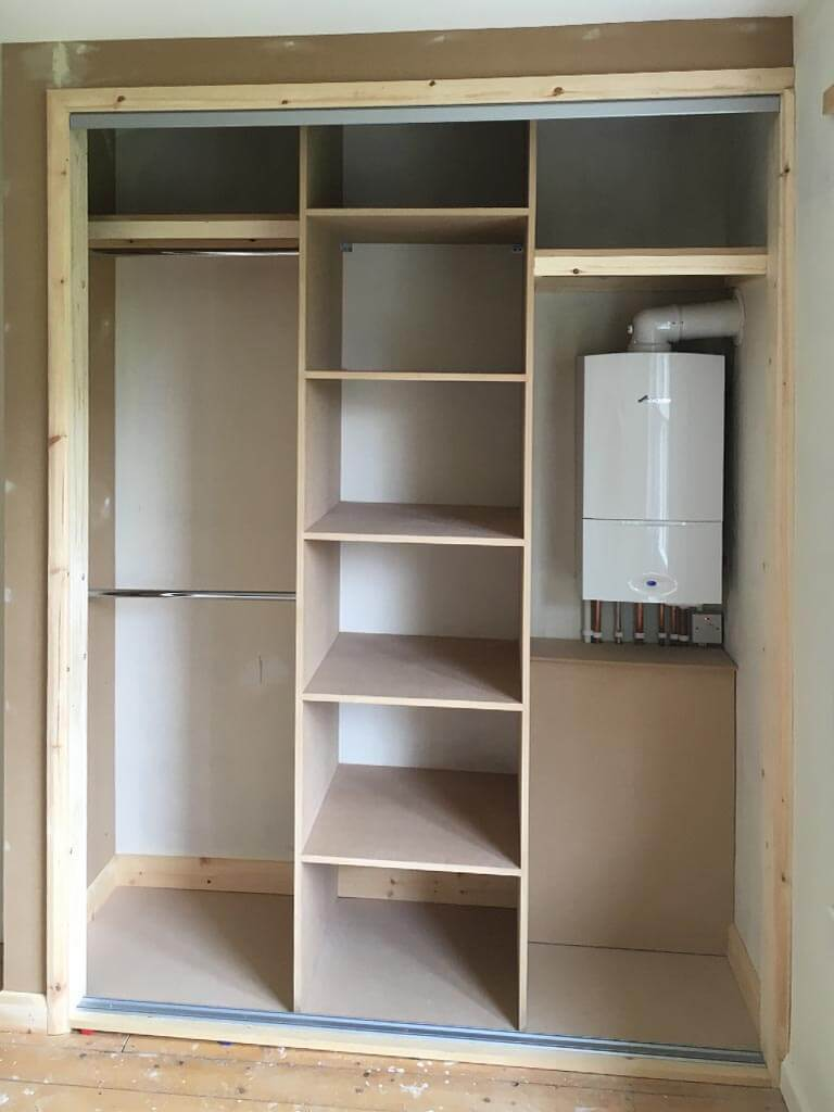 Wardrobe internal storage Carpentry Old Catton