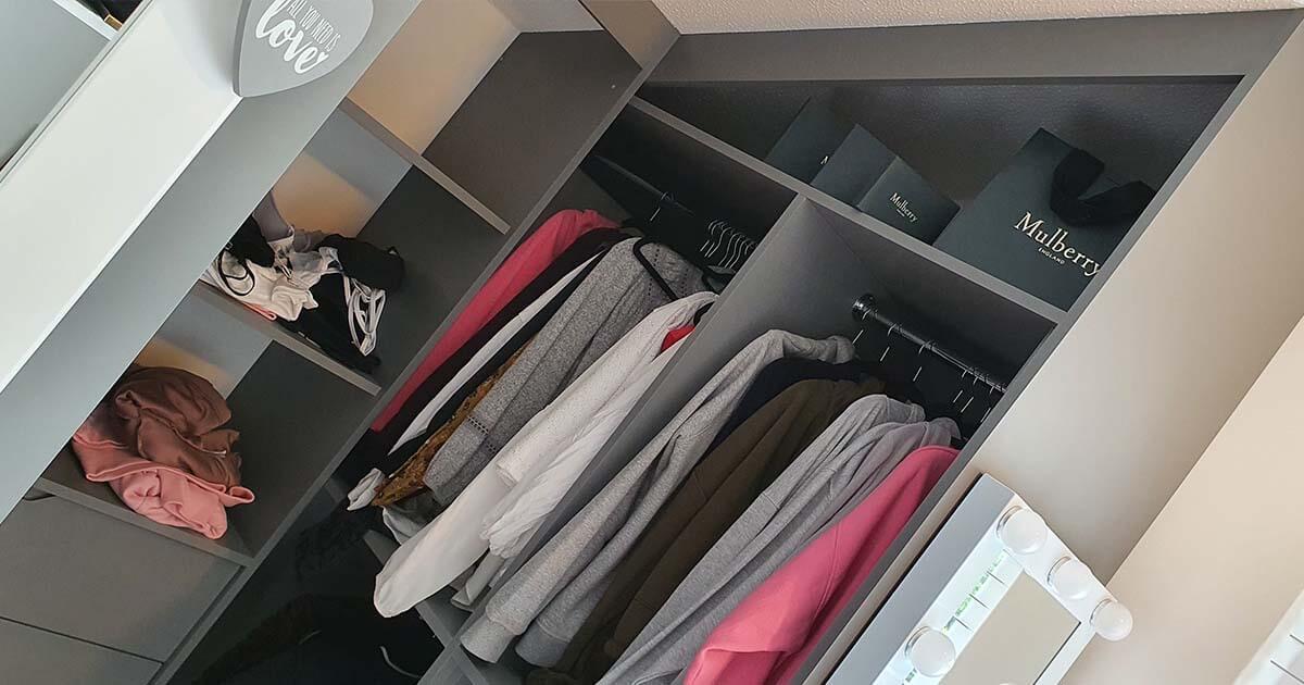 walk in wardrobe Carpenter Norwich