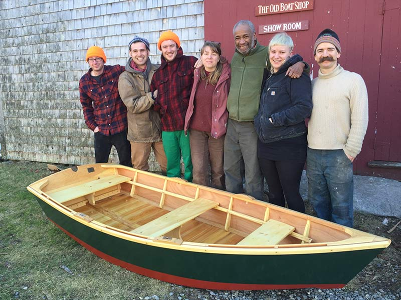 new boat 9.5' Monhegan skiff