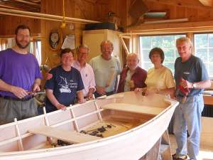 boatbuilding class group shot