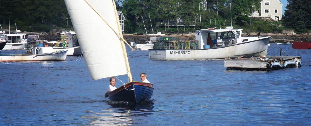 sailing a catspaw dinghy