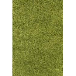 tapis a poils longs a poils longs dream shaggy tapis uni couleur poil hauteur 5cm vert