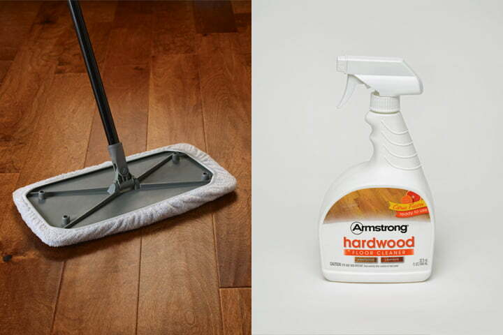 tips for cleaning hardwood floor