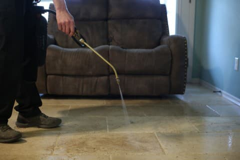 best way to clean any type of tile flooring