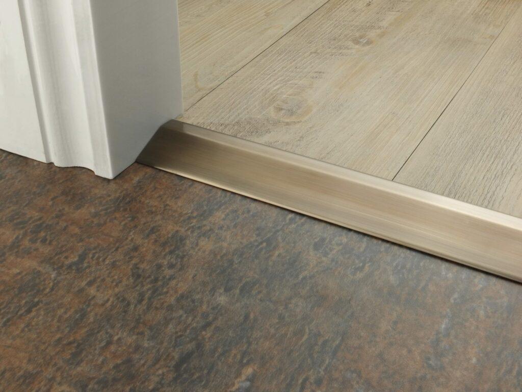 hardwood floor to tile transition