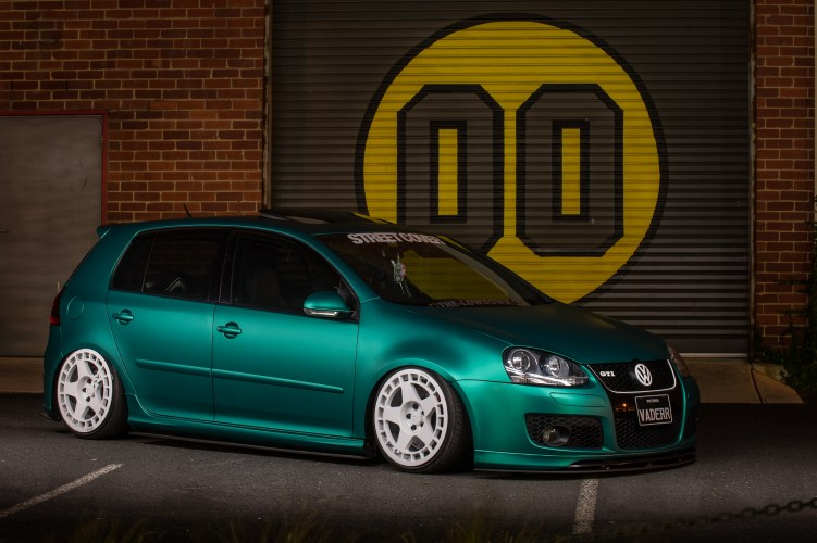 2008 VW Golf GTI MKV Arlon Green Aluminum