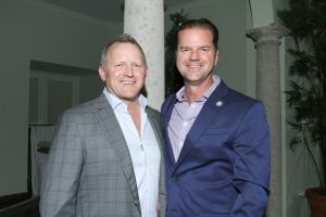 Mike Bristow & Kevin Landers