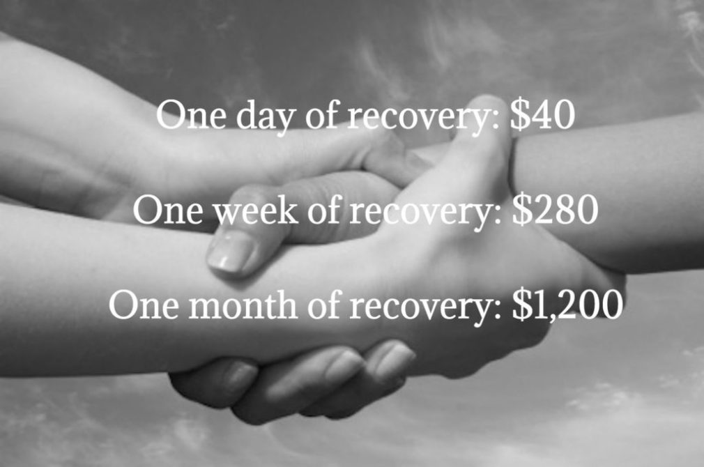 Give one day, week, or month of recovery