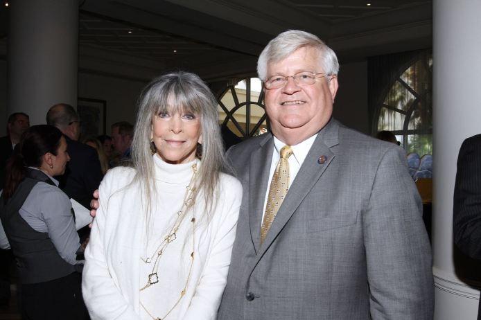 IMG_2437 Barbara Katz & Chief Deputy Michael Gauger