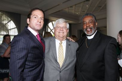 IMG_2484 Rick Hutchinson, Chief Deputy Michael Gauger & Bishop Harold Ray