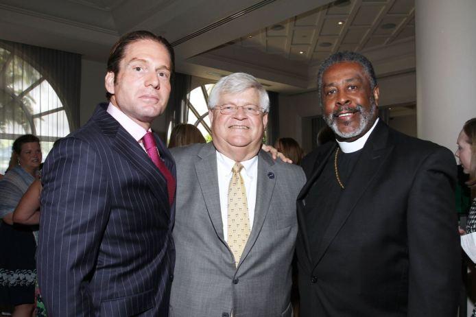 IMG_2484 Rick Hutchinson, Chief Deputy Michael Gauger & Bishop Harold Ray