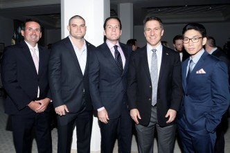 IMG_5192 Tim Fitzpatrick,Sam Wilcox,Rick Hutchinson,State Attorney Dave Aronberg & Kevin Choi
