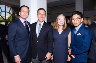 IMG_5195 Rick Hutchinson,State Attorney Dave Aronberg, Michele Lutz & Kevin Choi