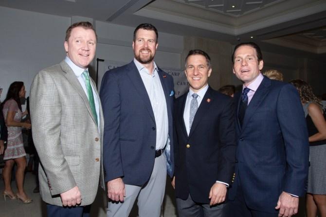 IMG_5233 Patrick Tighe, Ryan Leaf, State Attorney David Aronberg & Rick Hutchinson