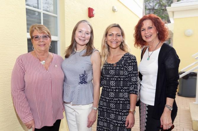 IMG_0174 Diane Jegle, Michele Lutz,Fran Marcone & Taylor Schneider