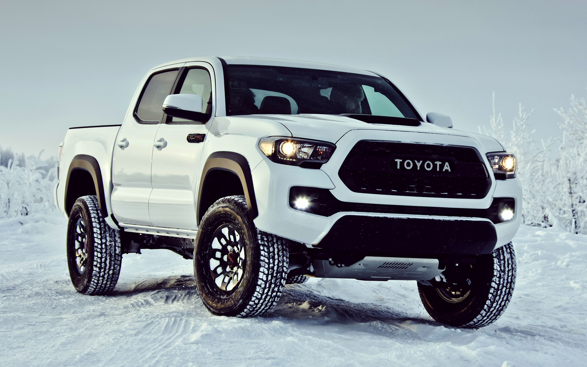 2017 Toyota Tacoma Trd Pro Double Cab Wallpapers And Hd