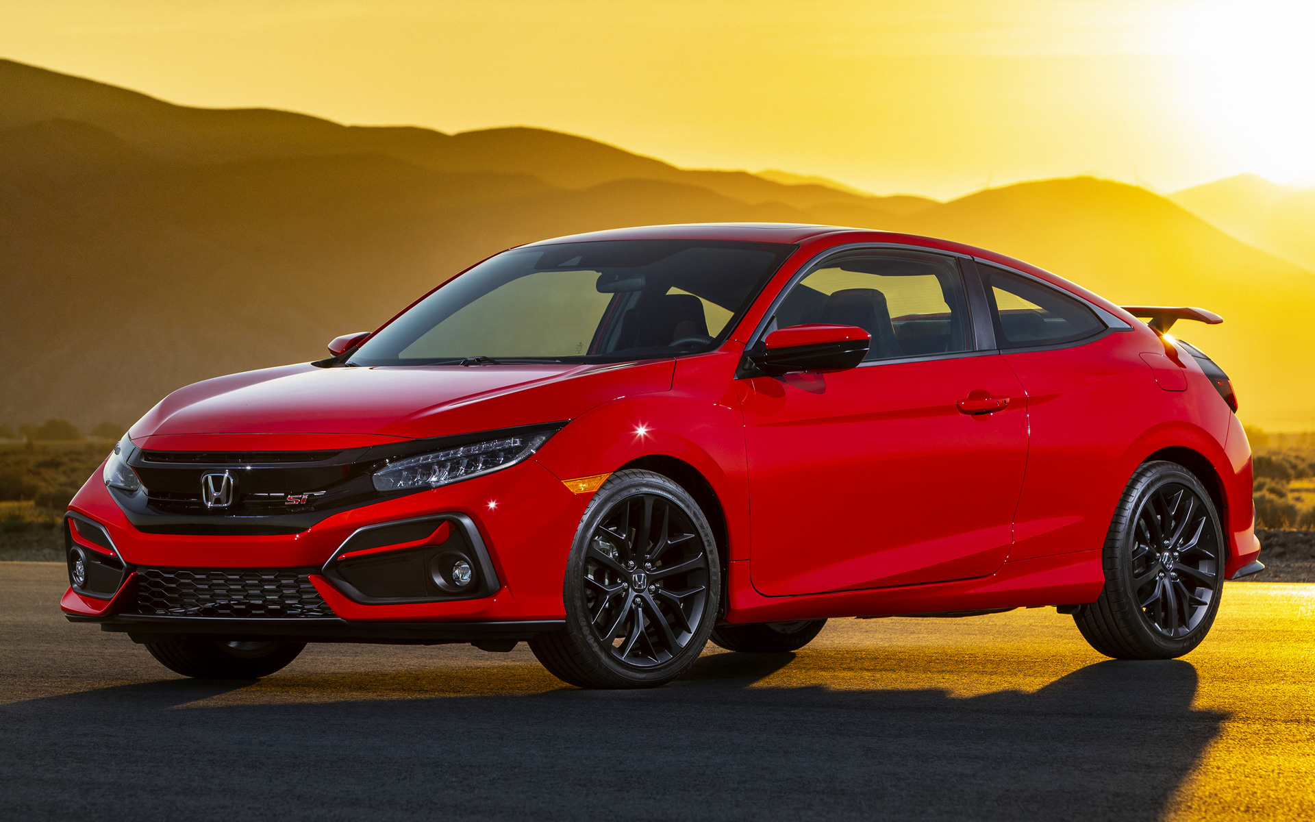 Hondas are popular vehicles, and choosing one for your next purchase is a smart move. 2020 Honda Civic Si Coupe (US) - Wallpapers and HD Images