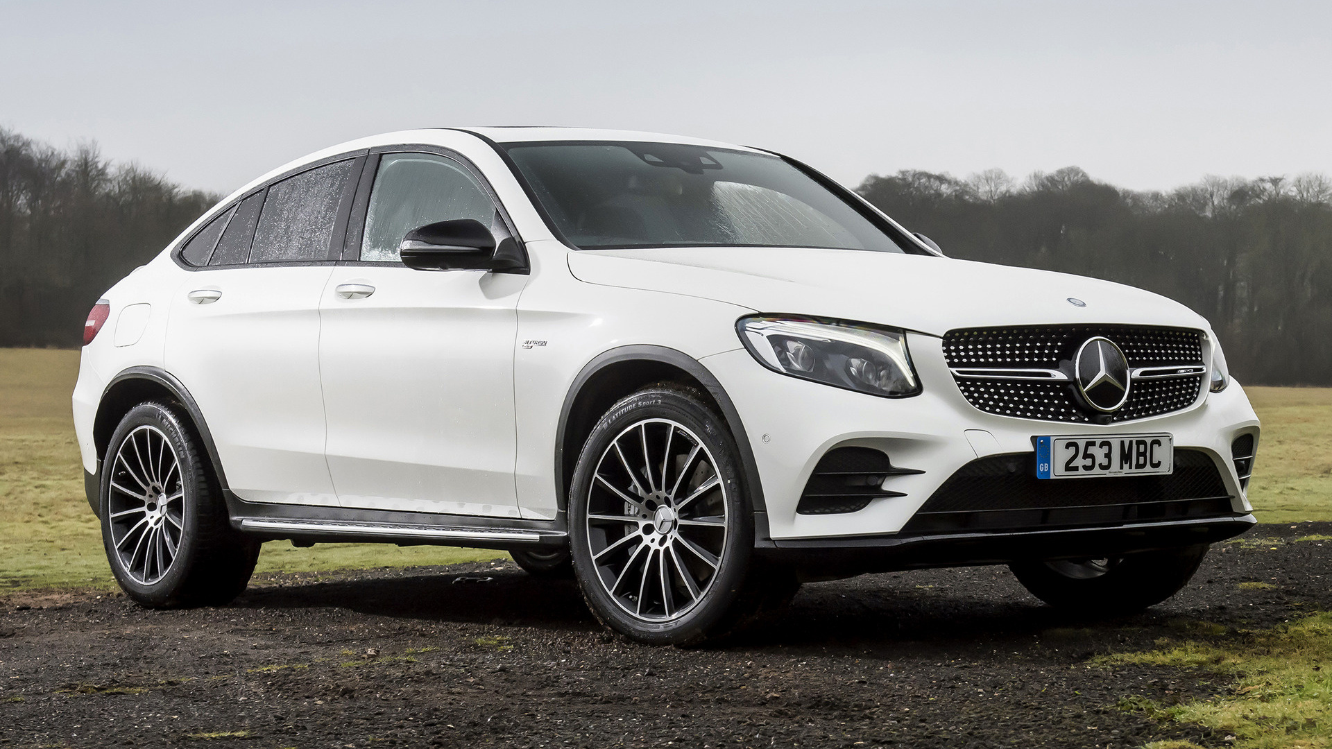 2017 Mercedes AMG GLC 43 Coupe UK Wallpapers And HD