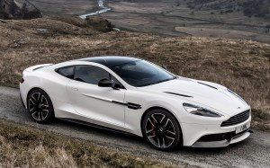 2014 Aston Martin Vanquish Carbon White (UK)  Wallpapers
