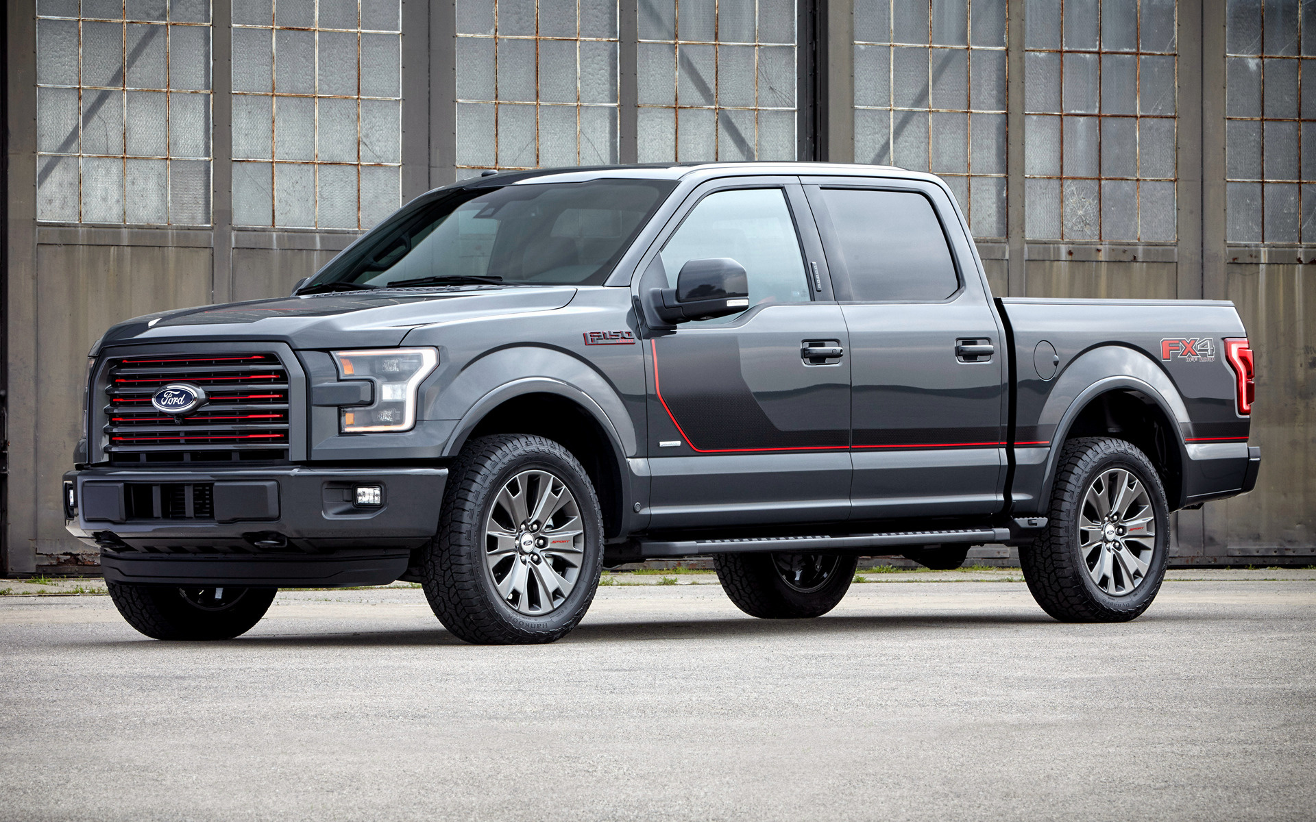 Ford F 150 Lariat FX4 SuperCrew Appearance Package 2016