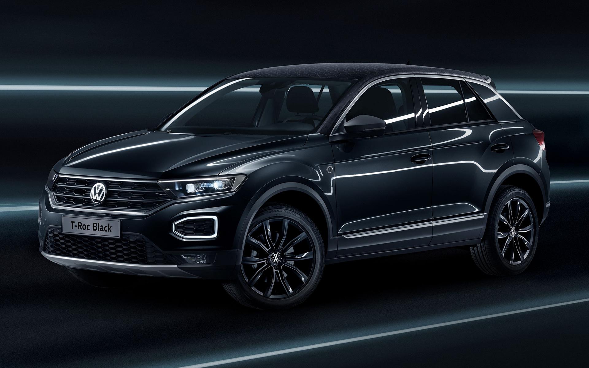 2017 Volkswagen T Roc Black Wallpapers And HD Images