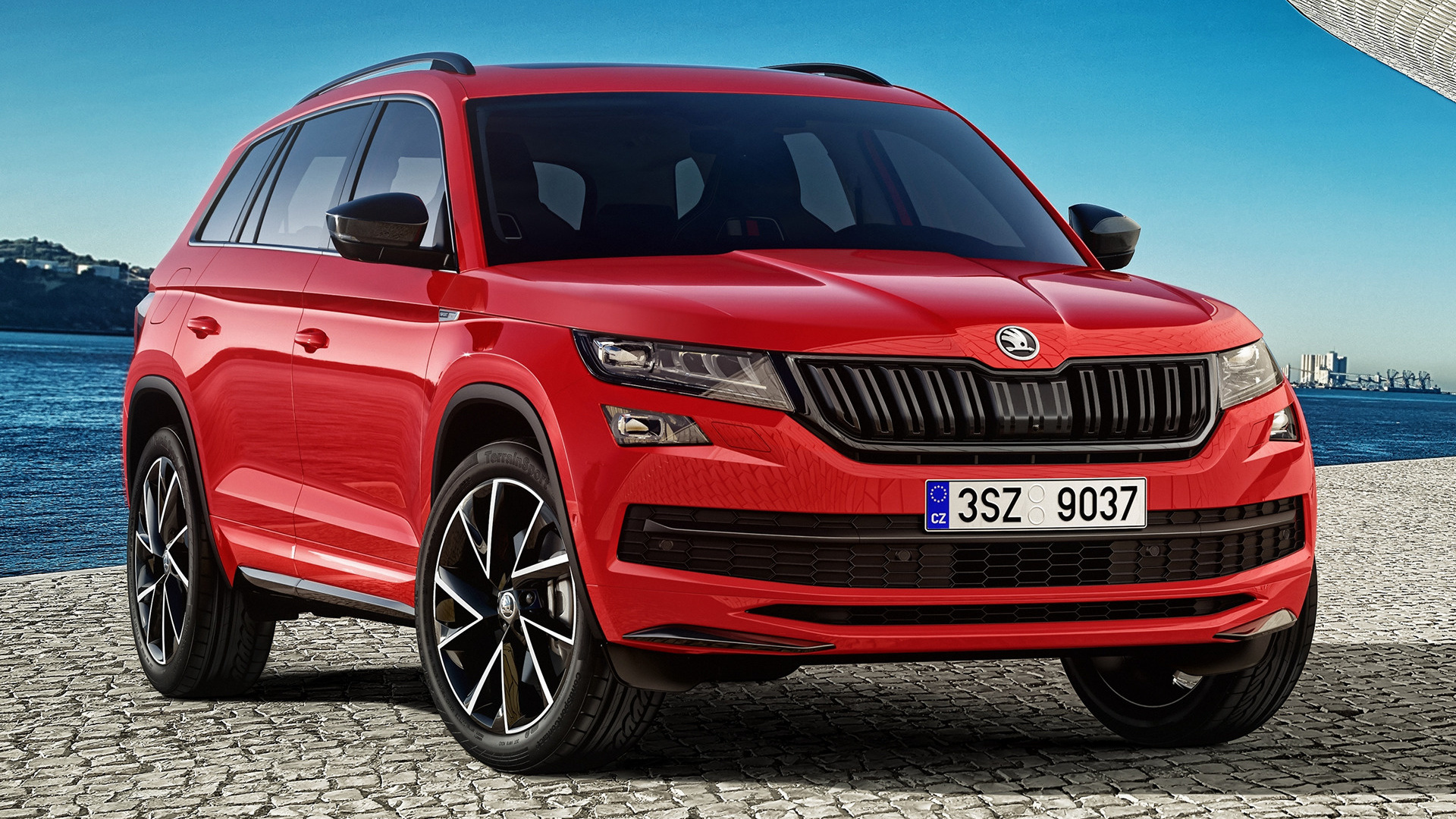 Skoda Kodiaq Sportline 2017 Wallpapers And HD Images