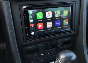 CarPlay Installs: Kenwood DDX-6706S in a 2006 Audi A4