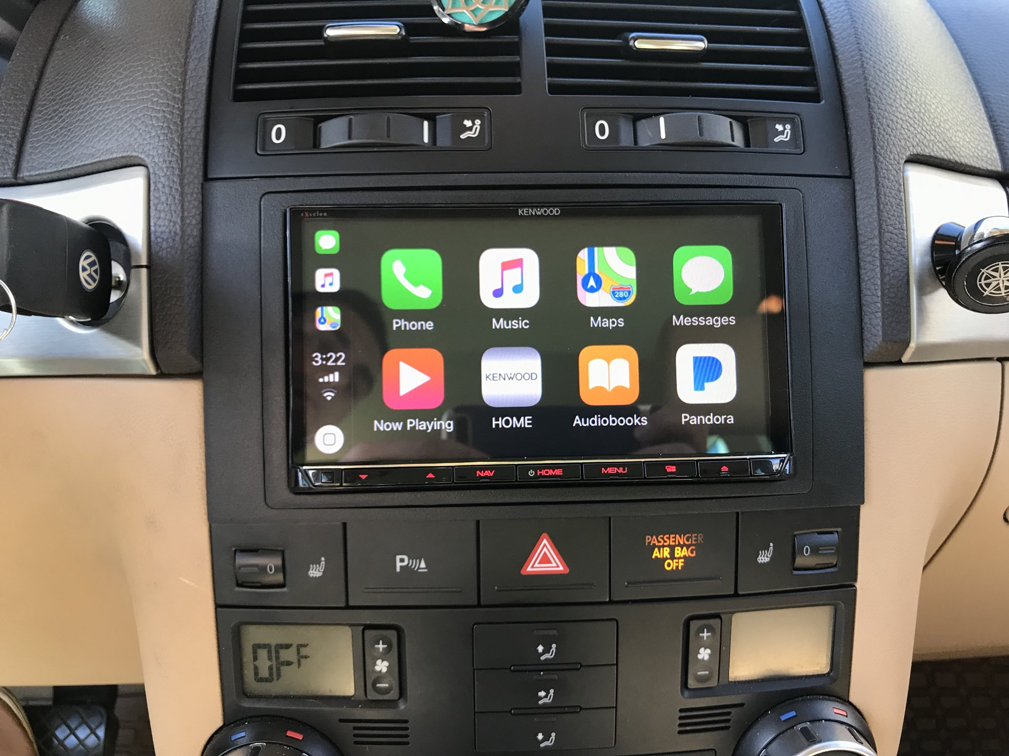carplay installs kenwood ddx994s in a 2010 volkswagen. Black Bedroom Furniture Sets. Home Design Ideas