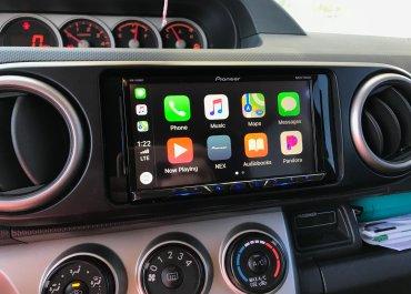 CarPlay Installs: Pioneer AVH-2400NEX in a 2008 Scion xB