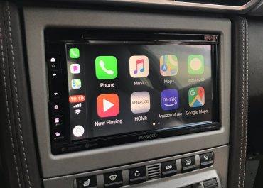 CarPlay Installs: Kenwood DDX-6906S in a Porsche 911