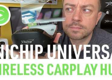 Unichip Universal Wireless Apple CarPlay HUD Video Review