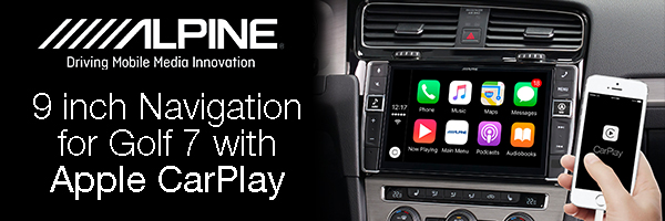 Alpine CarPlay Life Ad