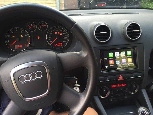 CarPlay Installs Pioneer SPHDA In A Audi A CarPlay Life - Audi car play