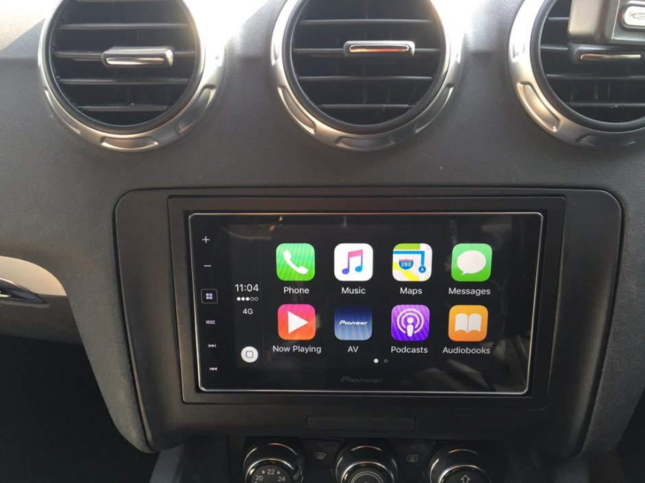 Audi TT 2008 CarPlay