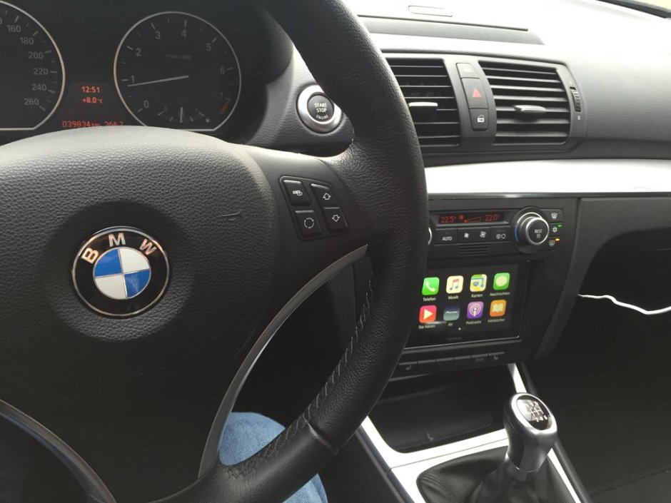 BMW 1 Series CarPlay Install