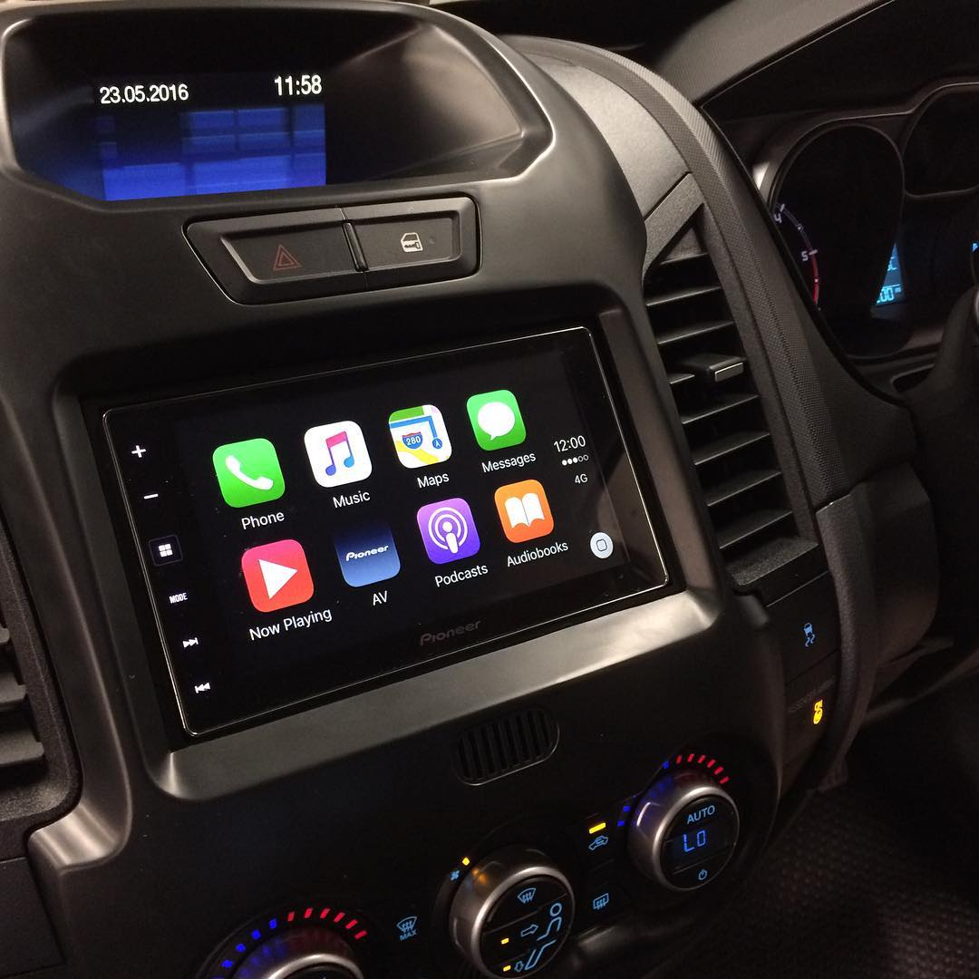 carplay installs pioneer sph da120 in a ford ranger. Black Bedroom Furniture Sets. Home Design Ideas