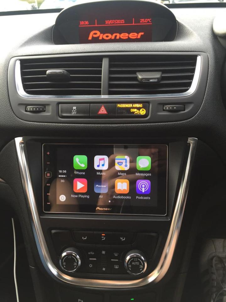 CarPlay Vauxhall Mokka