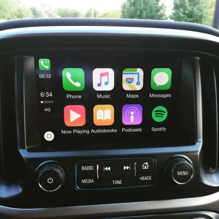 Chevrolet Colorado CarPlay