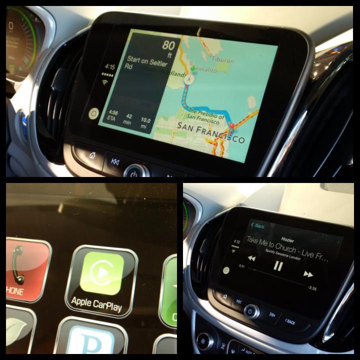 Chevrolet Volt CarPlay