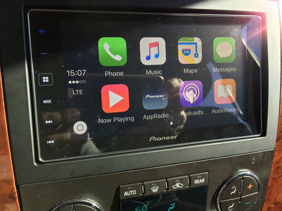 Chevy Tahoe CarPlay Install