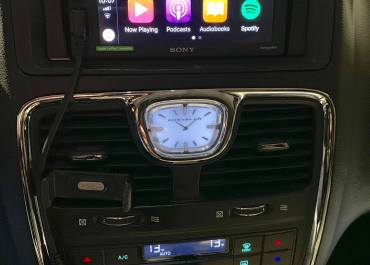 CarPlay Install: Sony XAV-AX1000 in a 2011 Chrysler Town & County