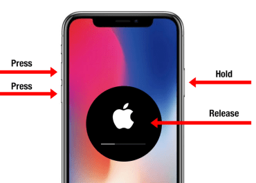 How to: Hard Reboot An iPhone X / 8 / 8 Plus
