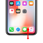 How to: Enable Reachability on an iPhone X