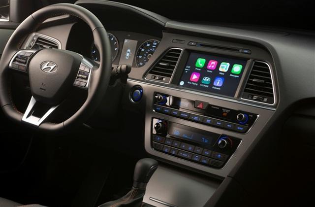 Hyundai Sonata CarPlay