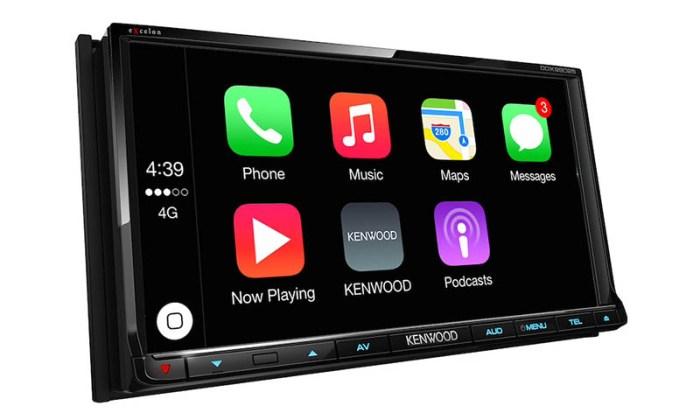 Kenwood-CarPlay